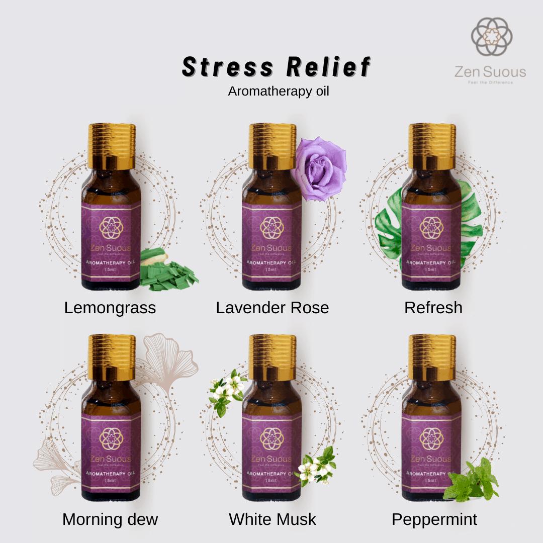 Zen Suous Aromatherapy Oil Set of 6 Oils